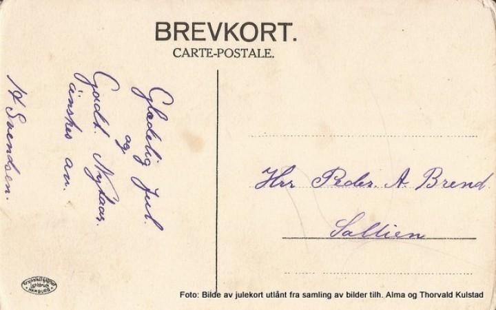 1-19 0505 gml julekort fra Skogli 1910