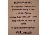 Loppemarked på Mogrenda