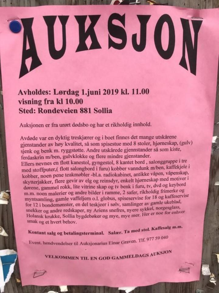 1-19 0527 auksjon Gløtten