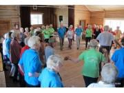 Suksess med seniordans på Jomsborg