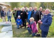 Etter Fossedagene: Seniorhydrologene i NVE i Atnbrufossen