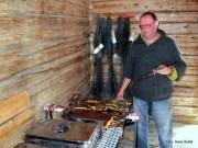 Etter Fossedagene: Salg av røkt fisk gikk som smurt