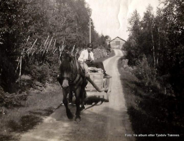 1-19 09120 på hjemveg fra Handelsforeningen 1920 T