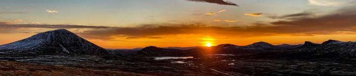 20 1115 solnedgang fra Snødølhøgda (1)