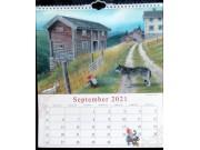 Midthun-kalender med Sollia-motiv