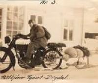 21 0222 Postkjører Tynset-Brydalen ca. 1923 Anno M