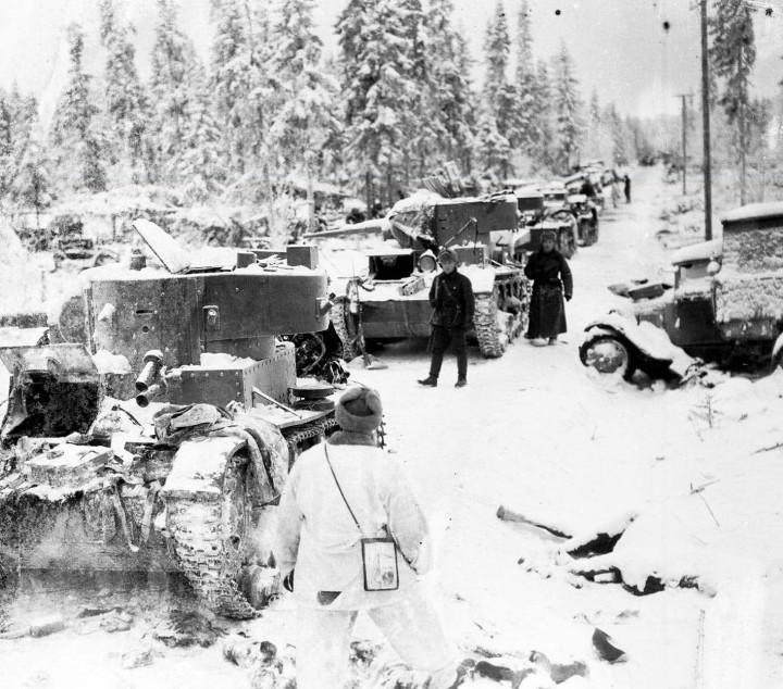 21 0310 Fra fronten der de sovjetiske styrkene var