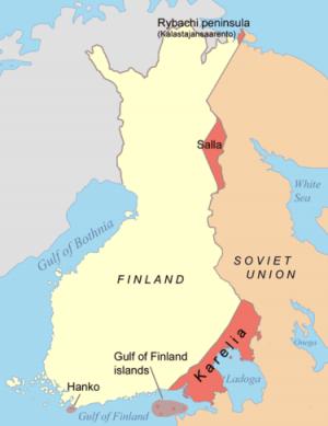 211 0310 Finske avståelser etter Vinterkrigen 1938