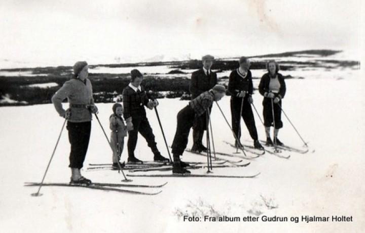 Påskeskiløpere