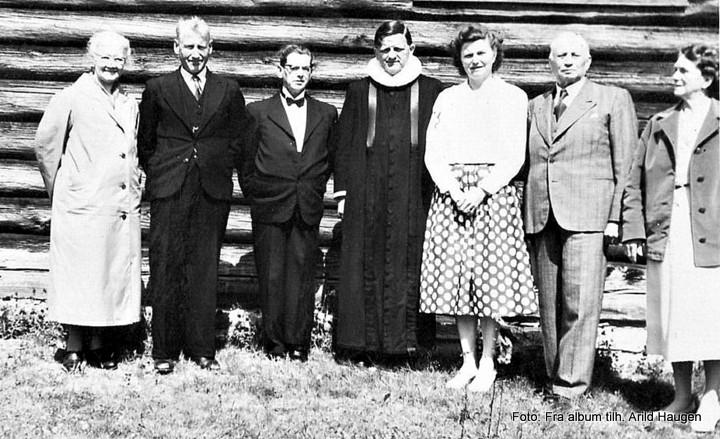 Marie og Trygve Haugen, Paul Myhr, Hans og Jonette