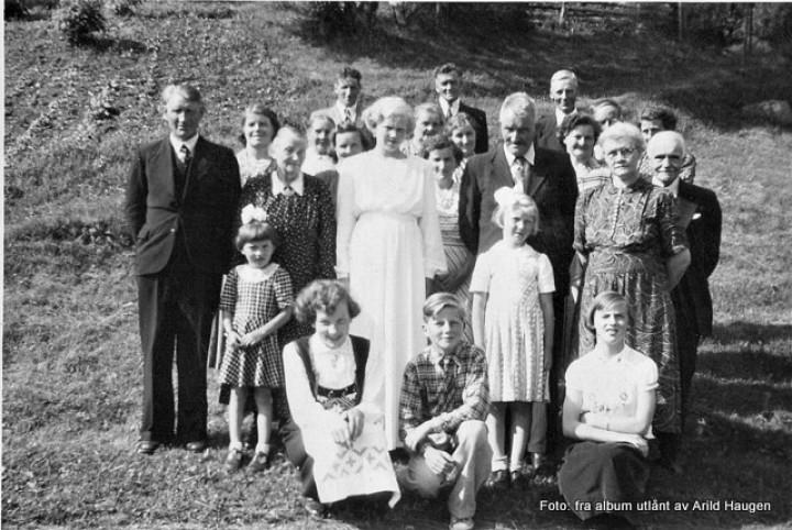 Komfirmasjon til Liv Haugen 1953