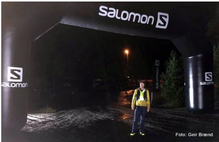 21 0813 Ole Kyrre i mål Rondane 100 miles