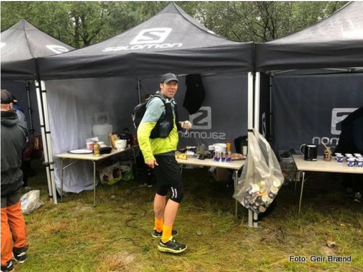 21 0813 Ole Kyrre passering Straumbu Rondane 100 m