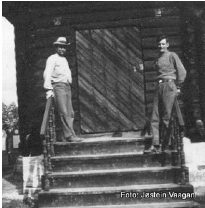 OKnutsson&KåreV-1938 Kirk jub. Foto Jøs.V.
