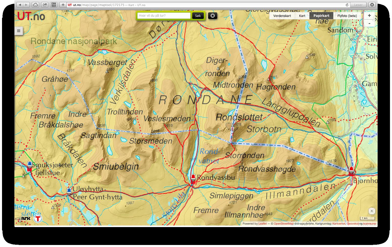 kart rondane Solkart over Rondane   I Sollia   naturligvis kart rondane